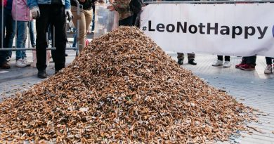 Volunteers Collect Nearly 300,000 Cigarette Butts In Only 3 Hours