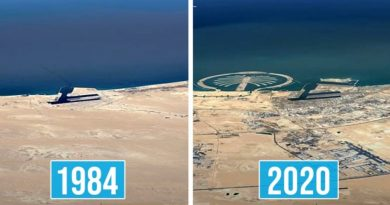 Google Earth's New Time Lapses Show The Impact Of Climate Change Over The Last 37 Years