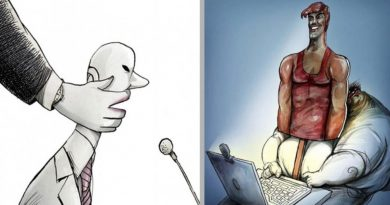 16 Illustrations Provoking Thought About Some Of The Dramas Of Modern Life