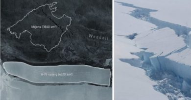 Massive Iceberg Breaks Off Antarctica And Becomes World's Largest