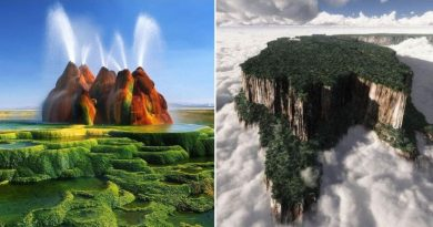 16 Photos of Alien-Looking Landscapes On Earth