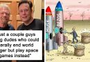 16 Of The Most Honest Reactions To The Billionaire Space Race Between Bezos, Branson, And Musk