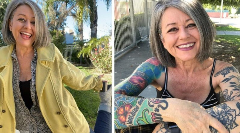 """56-Year-Old Influencer Gets Told She's """"Too Old to Dress Like a Teenager"""", She Fires Back with Her Outfit"""