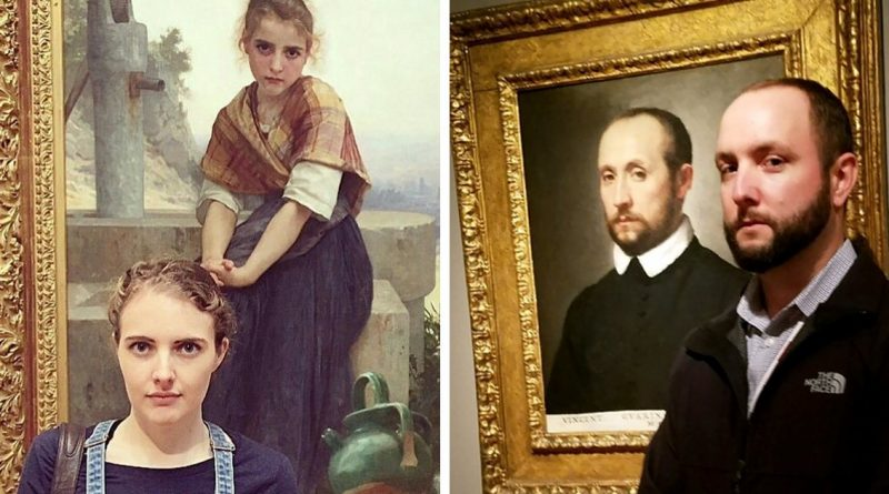 15 People Who Unexpectedly Found Their Doppelganger In A Museum Painting